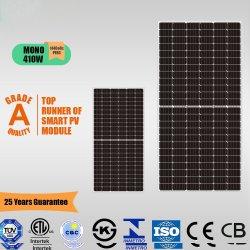 Goedkope prijs 144-cells Monocrystalline Solar Panel 410W (5BB) met TUV, CE, ISO, CQC