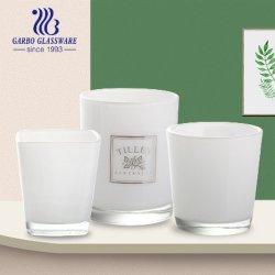 Cores Personalizadas em vidro fosco suporte para velas Adesivo Designs Impressão Votivo copos de vidro (GB22204-2)