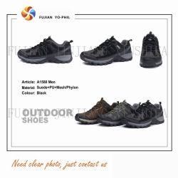 3 Farben-Sport-Veloursleder-Leder-Sicherheits-wasserdichte wandernde Trekking-im Freienarbeits-Schuh-Fußbekleidung-Aufladungen
