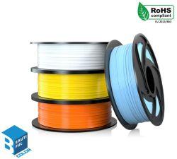 Filamento de fábrica direto PLA filamento 1,75 mm materiais de impressão 3D PLA de filamentos de plástico com alta qualidade