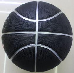 Bola de baloncesto de caucho negro Actearlier