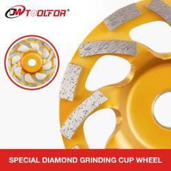 عجلة كوب الطحن الماسي للسمنت المعدني