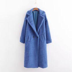 Novas roupas de inverno as mulheres de Camisa de Desgaste da imitação de pele fina camada de cordeiro