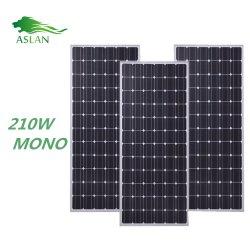 أعلى جودة 72 خلية بلورية أحادية 210 واط اللوحة الشمسية رخيصة السعر