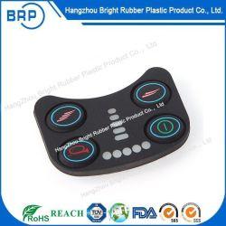 Tastiera della gomma di silicone di Back-Lighting con la stampa del Silkscreen