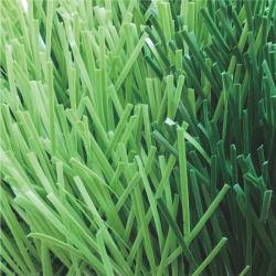 100% Nuevo Césped Artificial PP/PE hilo para jardinería y el fútbol o soccer Sports Turf Pitch Factory