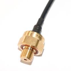 Sensor van de Druk van het Messing van de Output van lage Kosten 0.5-4.5V de Ceramische Capacitieve voor Vloeibaar Gas