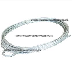 Alambre de acero inoxidable cuerda eslinga para cable armado