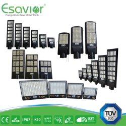 LED 솔라 플러드 라이트/실외용 조명, 리모컨 포함/MPPT IP68/300W