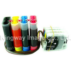 O sistema de fornecimento de tinta contínuo, OS CISS para o Irmão LC11 / LC16 / LC38 / LC61 / LC67 / LC980 / LC1100 4C (DS-B03)