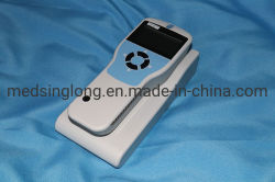 Triagem de mão Tympanometer Mini Audiômetro Mslym Hospitalar018
