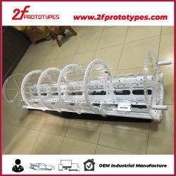 Nylon/ABS/POMの機械精密CNCの機械化の部品