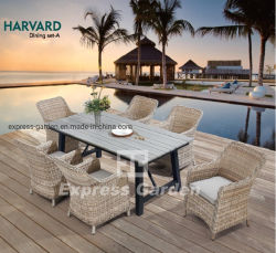 Vironwood 테이블, 옥외 의자 정원 안뜰 현대 좋은 판매인 땡땡 울리는 가구 세트를 가진 알루미늄