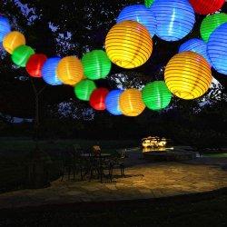 Feux à LED solaire Fairy chaîne Lanterne lumière blanc imperméable intérieur extérieur des lumières décoratives pour la maison de jardin patio fête de mariage d'éclairage de la chambre