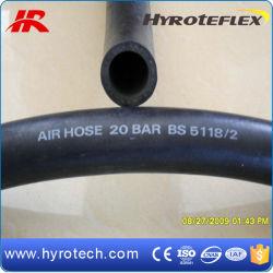 Haute qualité de l'air 20 bars lisse, noir et flexible en caoutchouc