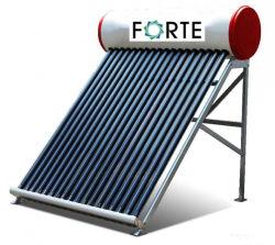 Pequeno aquecedor solar de água de baixa pressão
