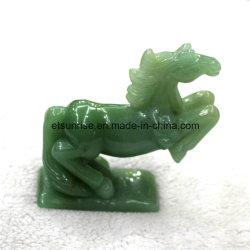 Figura animale di scultura Amethyst statua dei pesci della pietra preziosa della pietra semi preziosa di modo