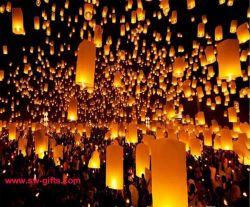 Lanterna della mosca delle lanterne/cinese del cielo dei regali di giorno di Pasqua delle lanterne del cielo, regalo dell'amante, regalo del partito