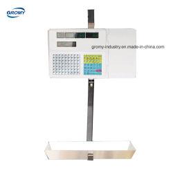 La pendaison Calcul du prix Étiquette de code à barre d'échelle échelle de l'imprimante