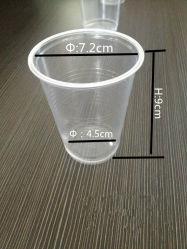 De PP transparente de 200 ml de bebidas descartáveis Cup