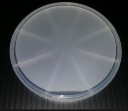 2 pulgadas LED de 4 pulgadas de cristal de zafiro vidrio de reloj Wafer