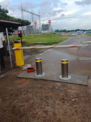 La sécurité du trafic barrière Parking Accès véhicule Barrière de contrôle automatisé de barrière de la porte de la rampe de stationnement