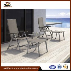 2018 Piscina plegable ligero eslinga Sun juego de sillas Muebles de Exterior (MI-514)