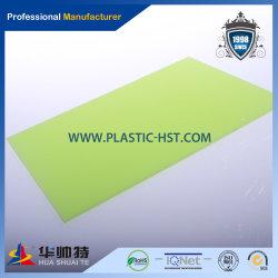 Prix bon marché et de couleur différente pour la vente en gros De feuille solide en polycarbonate