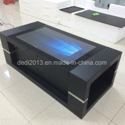 Кнессета Деди 55 дюйма Интеллектуальный сенсорный рекламы сенсорный дисплей машины в таблице