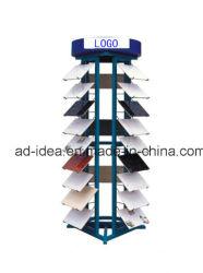 شاشة عرض معدنية متعددة المستويات مخصصة/برج عرض الكوارتز لمعرض المربعات/معدات إعلانية