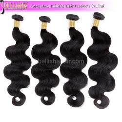 الجسم بتشابك حر عالي الجودة Wave ماليزي شعر الإنسان فايف 100% من التمديدات الماليزية لمتساقط الشعر Virgin Hunan