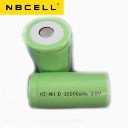 D 10000mAh NiMH Nbcell 1,2V batterie Ni-MH