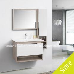 Nouvelle salle de bains en acier inoxydable moderne avec un côté du Cabinet Le Cabinet