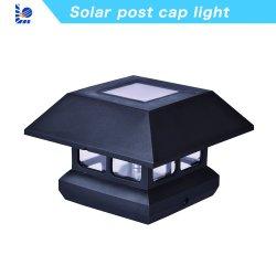 Fabricant de fidèles de bonne qualité de LED pour panneau solaire Imperméable à l'extérieur piquet de clôture de l'éclairage solaire chapeau