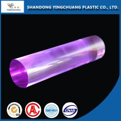 Custom четкие цветные акриловые Lucite Plexiglass пластмассовый стержень
