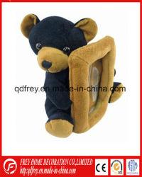 Cadeau de Noël de Soft Plush Teddy Bear Photo Frame