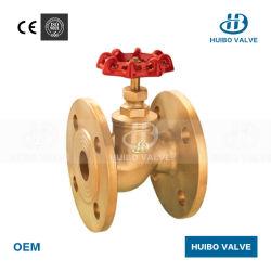 직선형 플랜지형 연결 정지 밸브 1/2''-2'' 인치