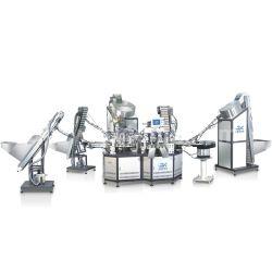 Vollautomatische Kunststoffkappen Montage Maschinen Weinflaschendeckel Montageausrüstung Montagelinie für Weinflaschendeckel