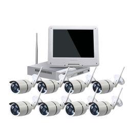 8 枚入りの超低価格 HD 720p ワイヤレス WiFi CCTV キット IR 防水 IP カメラは、特にオフィスホームセキュリティに適しています をインストールします
