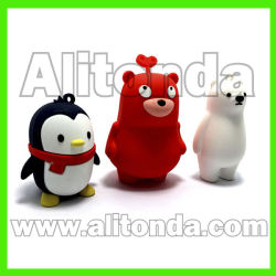 PVC personnalisés Three-Dimension 3D de personnages de dessins animés personnages de dessins animés pour décoration maison Cadeaux promotionnels