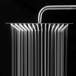 China fornecedor mais barato a poupança de água de banho estilo europeu escondido girando Lager LED fino Cachoeira Quadrado Chuveiro de Efeito Chuva de Aço Inoxidável