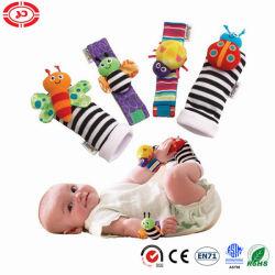 Querido bebê macia e aconchegante Lamaze meias de pelúcia