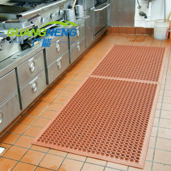 Le trafic lourd tapis caoutchouc régénéré trou/hôtel cuisine le tapis de sol en caoutchouc