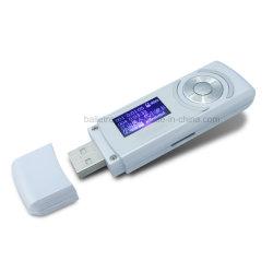USB MP3 avec logement de carte de TF