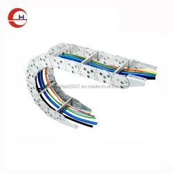 De Metal Cable de energía eléctrica móvil de la Cadena de operador de máquina CNC