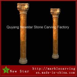 Home DecorationのためのローマのColumn Stone Pillars Sculptures
