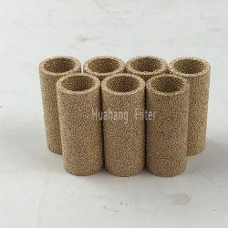 Reductiemiddel van het lawaai sinterde het Poreuze Element van de Filter van het Poeder van het Brons van het Metaal