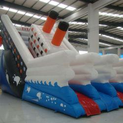 Titanic insufláveis escorrega de água para venda (SL-002)