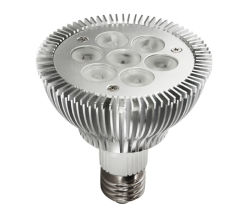 LED haute puissance PAR30 spot light avec 5W/7W Lampe
