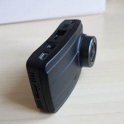 """2.7"""" polegadas Full HD de Canal Duplo Gravador de Vídeo Digital com a dianteira Imx291, Sensor de GPS externo, Ios & Android à prova de câmara de 1080P"""